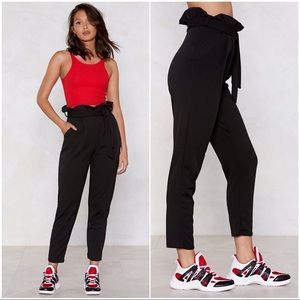 🆕 Nasty Gal You'll Never Know High-Waisted Pants